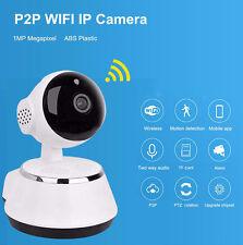 TELECAMERA IP CAMERA HD 720P WIRELESS LED IP CAM  MOTORIZZATA WIFI P2P