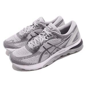 Asics-Gel-Nimbus-21-Grey-Silver-Men-Running-Training-Shoes-Sneaker-1011A169-020