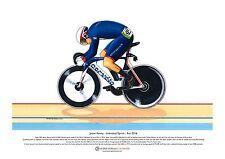 Jason Kenny, Individual Sprint Winner, Rio Olympics ART POSTER A3 size