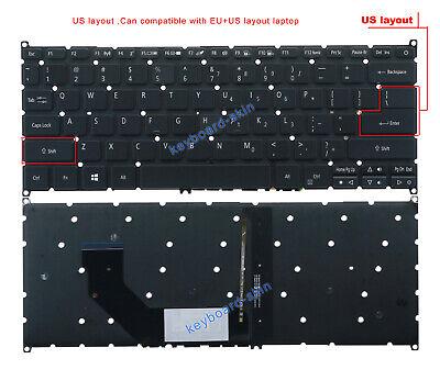New for Acer Aspire 9Z.N8QBC.J1D NSK-R3JBC PK130O22B00 laptop Keyboard backlit