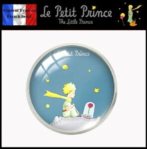 1-Pins-NEUF-en-Metal-et-Verre-Brooch-Le-Petit-Prince-Saint-Exupery-Ref-5