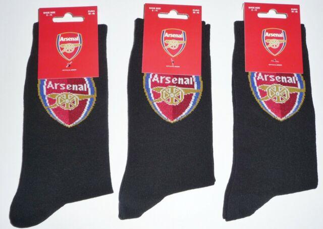 3 pairs mens Arsenal Socks