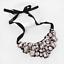 Fashion-Elegant-Women-Rhinestone-Crystal-Choker-Bib-Statement-Pendant-Necklace thumbnail 35