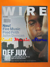 rivista WIRE 208/2001 Company Flow And Beyond John Duncan Fred Frith Neu! No cd