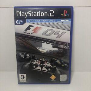 Formula 1 F1 04 (PS2) Game PAL playstation 2 includes manual uk free post