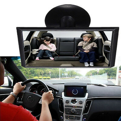 Adjustable Universal Car Interior Baby Care Guard Rear View Spots Suction Mirror