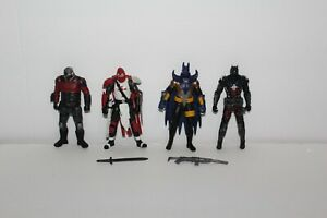 DC-Multiverse-Deadshot-Azrael-Knightfall-Batman-Arkham-Knight-Mattel-Mint-Lot-4-034