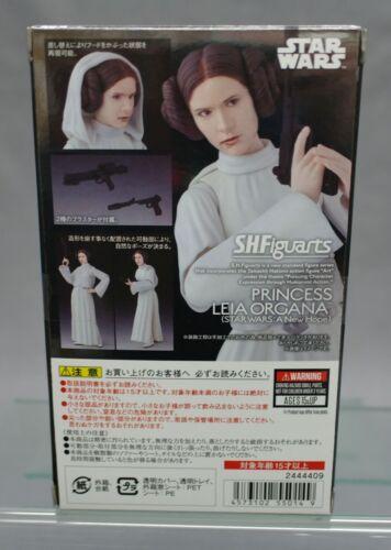 Figuarts Star Wars Princess Leia Organa Bandai japan NEW**c SH S.H A New Hope