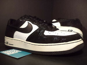 new concept 8a28d bd7c1 Image is loading 2006-Nike-Air-Force-1-Premium-Low-TUXEDO-