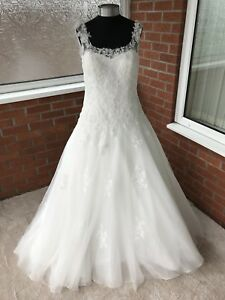VICTORIA-KAY-WEDDING-DRESS-IVORY-UK-SIZE-14-ONE-ONLY