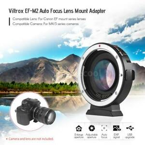 VILTROX-EF-M2-Auto-Focus-Adapter-0-71x-Aperture-For-Canon-EOS-EF-To-M43-MTF-Lens