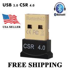 Bluetooth 4.0 USB 2.0 CSR4.0 Dongle Adapter for PC Laptop WIN XP VISTA 7 8
