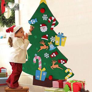 DIY-Felt-Christmas-Tree-Ornaments-Xmas-3D-Gift-Wall-Hanging-Decor-Children-Kids