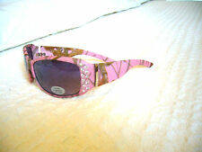 """WOMEN'S LADIES """"CAMOUFLAGE SUNGLASSES W/ RHINESTONES"""" 4 LIMITED TIME...PINK CAMO"""
