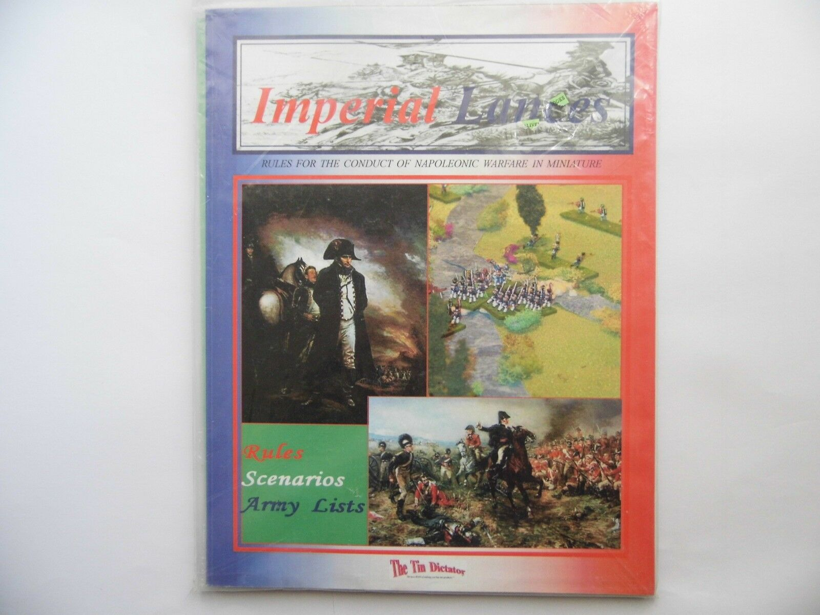 IMPERIAL LANCES - WARGAMES RULES - NEW
