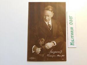 Orginales  Foto + Autogramm Kronprinz  Wilhelm von Preußen 1922 in  Wieringen