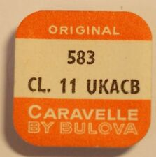 BULOVA/CARAVELLE  CAL. 11 UKACB   TAGESKORREKTOR  PART No. 583   ~NOS~
