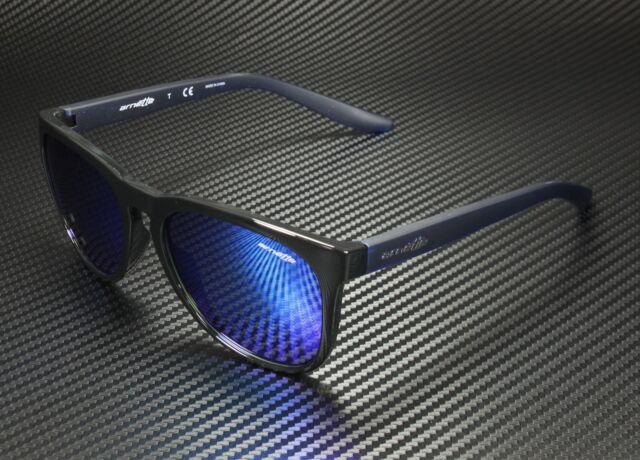 Matte White Arnette Mens Urca Polarized Rectangular Sunglasses 57 mm