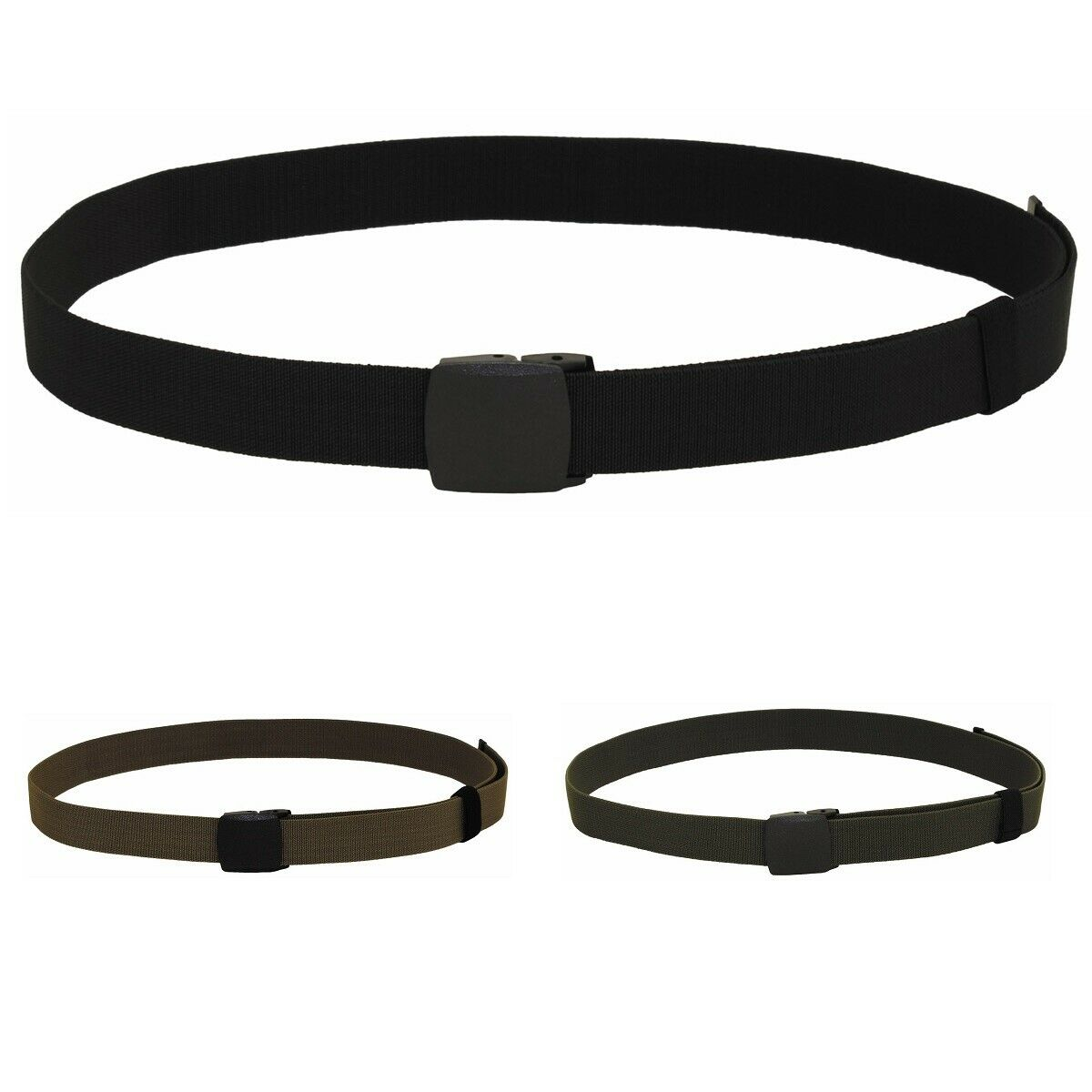 3,7 cm Stretchgürtel Tactical Gürtel elastisch Damen Herren elastic unisex