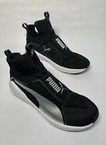 Details about PUMA Fierce Core high Women's Fashion Sneakers 188977 08 Black/White