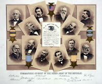 13x15 Poster: Commanders-in-chief Of The Grand Army Of The Republic, G.a.r.