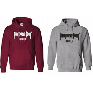 justin bieber purpose the world tour hoodie sweatshirt men. Black Bedroom Furniture Sets. Home Design Ideas