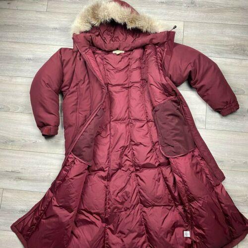 Cabela's Goose Down 550 Down Fur lined hood parka*