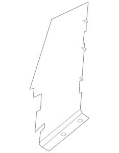 Genuine Ford Air Deflector 9L7Z-8311-A