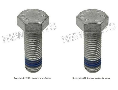 For Mercedes W124 W203 R170 Set Of 2 Front Or Rear Brake Caliper Bolts NEW