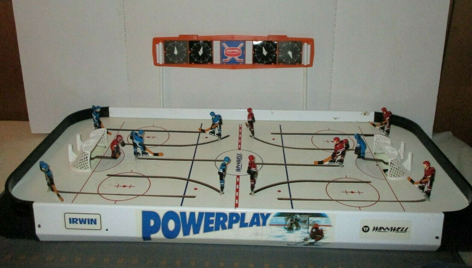 alto descuento Irwin winnwell winnwell winnwell Power Jugar Juego De Hockey De Mesa Años 90  hasta un 60% de descuento