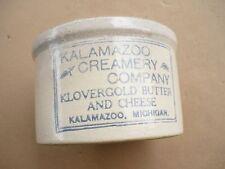 Kalamazoo Creamery Company Klovergold Butter & Cheese Crock