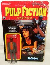 "MARSELLUS WALLACE ReAction Super 7 PULP FICTION Retro 3.75"" Action Figure Funko"