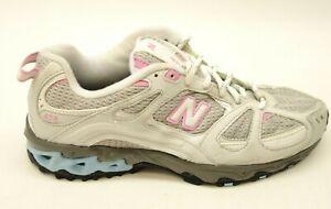 New-Balance-Womens-608v5-White-Mesh-Walking-Athletic-Shoes-US-9-EU-40-5