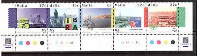 intern: Land Malta Michelnummer 1067-1071 Postfrisch Strukturelle Behinderungen