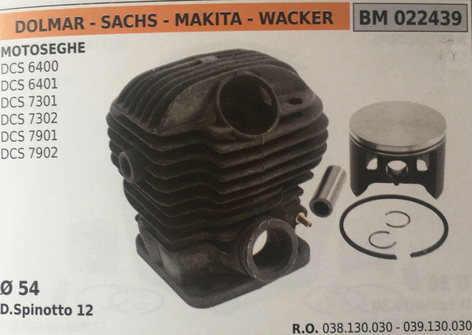 Zylinder Komplett mit Kolben und Segmente Brumar BM022439 Dolmar-Sachs Weitere