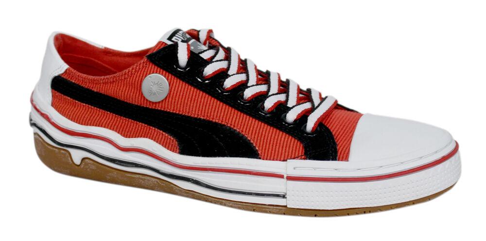 Puma Mihara Yasuhiro MA 41 Lacets Noir Rouge Homme Chaussures Baskets 348678 03 D50-