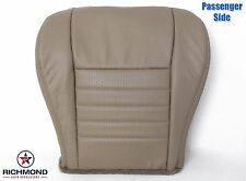1999 2000 Ford Mustang GT V8-Passenger Bottom Replacement Leather Seat Cover Tan