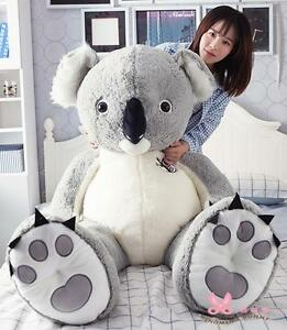 New Big Cute Australia Koala Cotton Plush Toy Doll Stuffed Animal 4