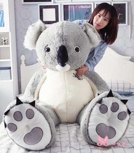 Soft Toy Giant Hung Big Australia  Koala Cotton Plush Doll Stuffed Animal Gift A