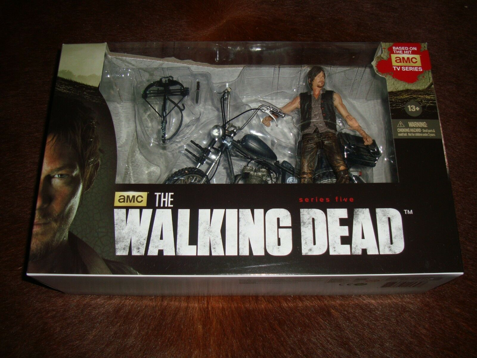 McFarlane Walking Dead AMC TV Series Series Series 5 DARYL DIXON & CHOPPER Box Set L@@K  2b6579