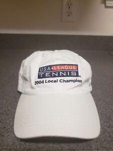 United States League 2004 Local Champion USA League Tennis Hat Cap ... d6d18d1f0f3