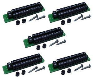 S862-5-Stueck-MoBa-Verteiler-Stromverteiler-24-polig-fuer-Gleich-u-Wechselstrom