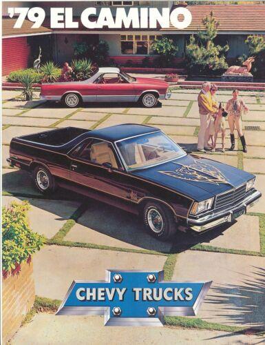 1979 Chevy El Camino SS//Conquista//Royal Knight Brochure