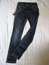 Miss Sixty blue jeans stretch Denim w23/l34 low waist slim fit straight slim leg