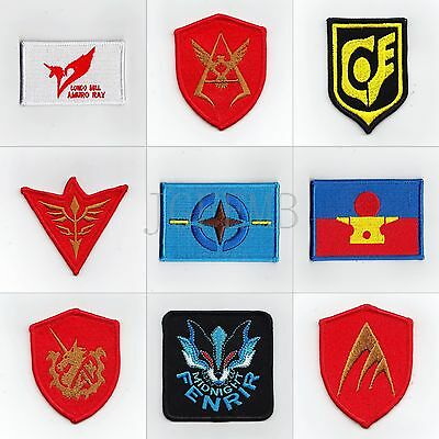GUNDAM Military Tactical Morale Embroidery Patch Badges Series 2