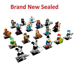 Lego-71024-Disney-Series-2-Minifigures-SEALED-Mickey-Elsa-Jack-Dewey-Huey-Louie