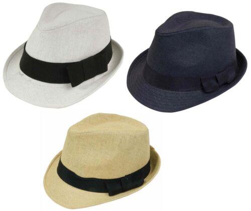 Cappello fashion con fascia 4 cm 3 colori bianco,naturale,nero