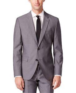 0f2fb2c7e Details about Men Dress Slim Fit Suit Hugo Boss Mini Grid C-Jeffrey C- Simmons Gray 50309938021