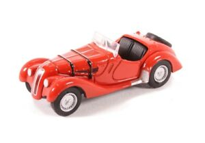 Oxford-Diecast-1-76-Scale-BMW-328-Red-76BM28002-BRAND-NEW