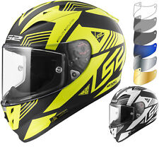 LS2 FF323 Arrow R Evo Neon Motorcycle Helmet & Visor Motorbike Full Face Tinted
